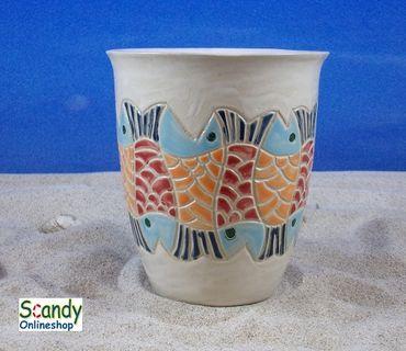 Saftbecher aus Keramik Design Fischer – Bild 2