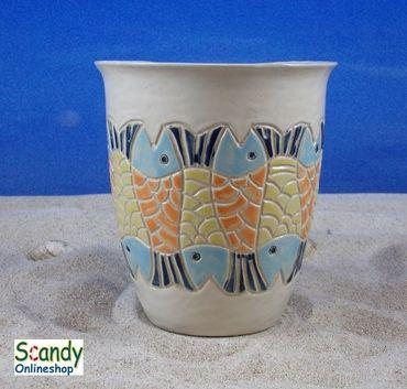 Saftbecher aus Keramik Design Fischer – Bild 3