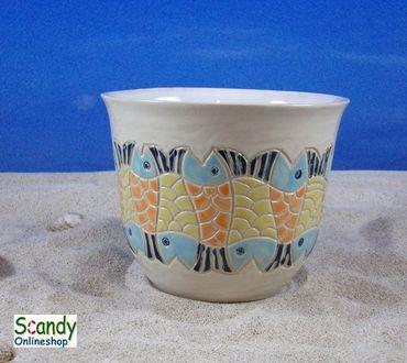 Tasse ohne Henkel aus Keramik Design Fischer – Bild 1