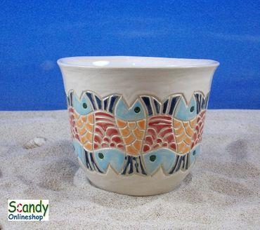 Tasse ohne Henkel aus Keramik Design Fischer – Bild 2