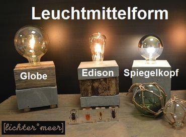 Betonlampe Boje verschiedene Varianten – Bild 2