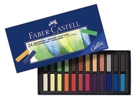 Faber Castell Creative Studio Softpastellkreide 24er Mini
