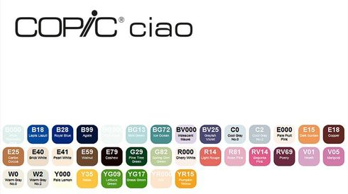 Copic Ciao 36er Set - E  – Bild 2