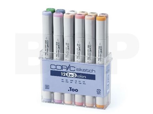 Copic Sketch 12er Set - EX-3 – Bild 2