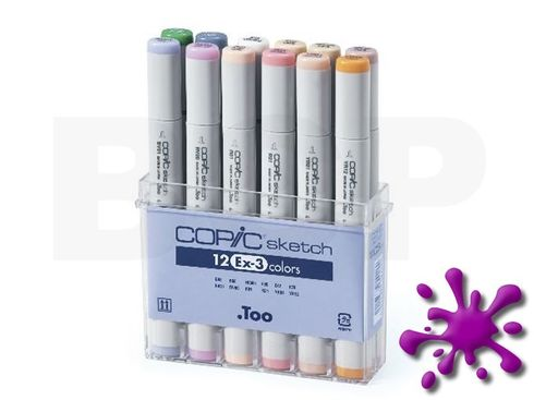 Copic Sketch 12er Set - EX-3 – Bild 1