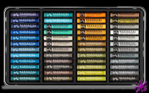 Caran d´Ache Neopastel - 96 Ölpastellkreiden - Set – Bild 3