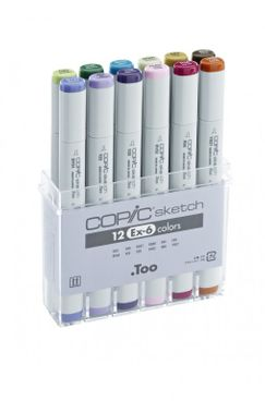 Copic Sketch 12er Set - EX-6 – Bild 2