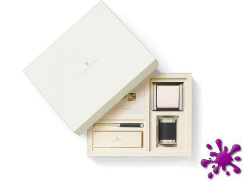 -Weihnachtsaktion- Graf von Faber Castell Schreibtischaccessoires Set klein schwarz – Bild 2