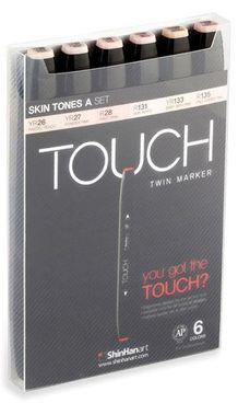 Touch Twin Marker 6er Set Pastel Colors