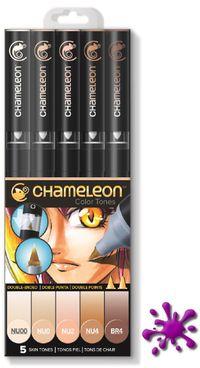 Chameleon Pens 5er Set - Hauttöne  – Bild 1
