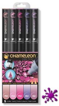 Chameleon Pens 5er Set - Blumen Töne  – Bild 1