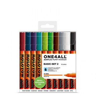 MOLOTOW ONE4ALL 127HS Marker 10er Basic-Set 2