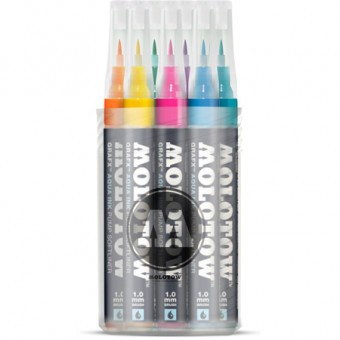 MOLOTOW GRAFX Aqua Ink Marker 12er Main-Kit I