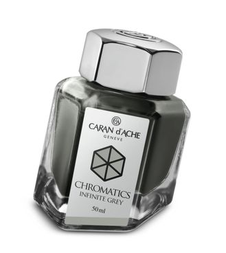 Caran d´Ache Tintenfass Chromatics Infinite Grey 50ml