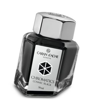 Caran d´Ache Tintenfass Chromatics Cosmic Black 50ml
