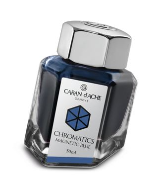 Caran d´Ache Tintenfass Chromatics Magnetic Blue 50ml