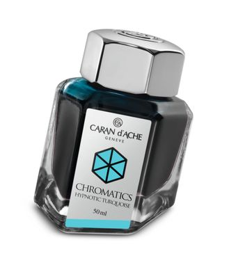 Caran d´Ache Tintenfass Chromatics Hypnotic Turquoise 50ml