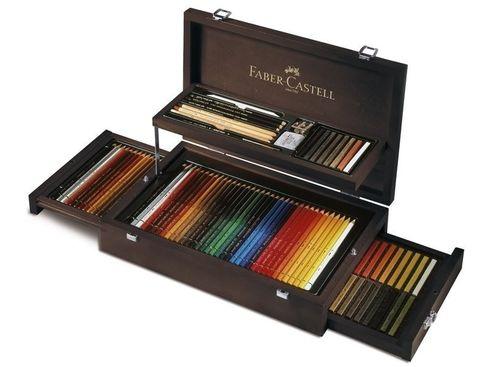 Faber-Castell Art & Graphic Holzkoffer 3x36 Farben – Bild 1
