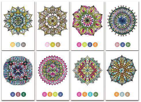Chameleon Color Cards zum selbst gestalten - Mini Mandalas Motive – Bild 3