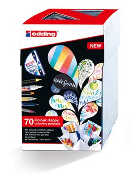 edding Colour Happy Box, 69+1 Big Box – Bild 2