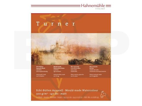 Hahnemühle Aquarellblock William Turner matt 300g, 10 Blatt, 30x40cm  – Bild 2