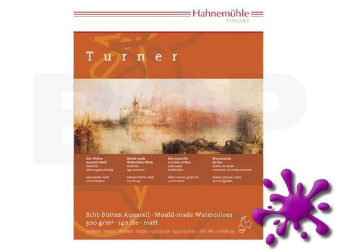 Hahnemühle Aquarellblock William Turner matt 300g, 10 Blatt, 30x40cm  – Bild 1