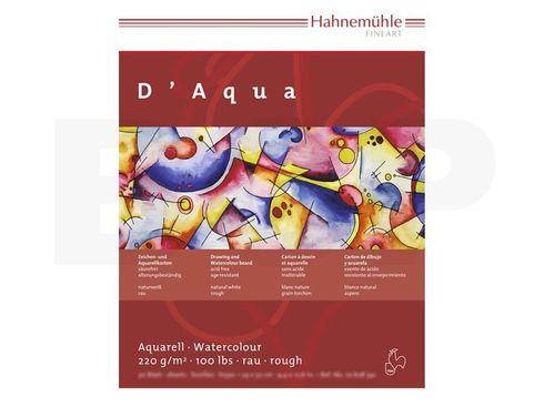 Aquarellblock D'Aqua rau 220g 24x32cm 30 Blatt – Bild 2