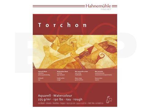 Hahnemühle Aquarellblock Torchon rau 275g, 20 Blatt, 17x24cm  – Bild 2