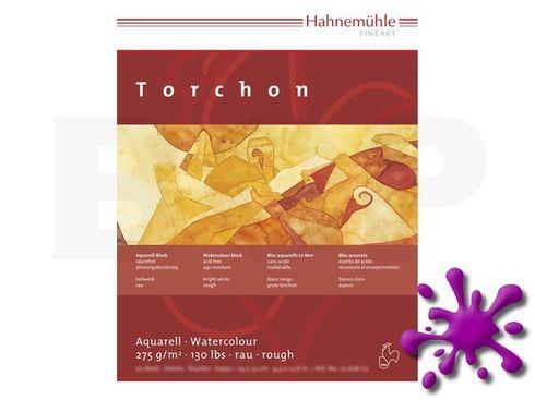 Hahnemühle Aquarellblock Torchon rau 275g, 20 Blatt, 24x32cm