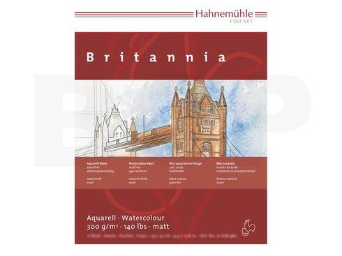 Aquarellblock Britannia matt 300g 24x32cm 12 Blatt – Bild 2