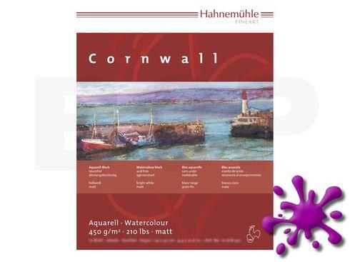 Aquarellblock Cornwall matt 450g 24x32cm 10 Blatt – Bild 1