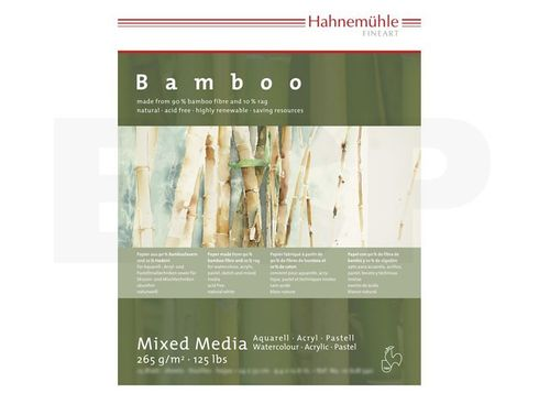 Bamboo-Mixed Media 265g 42x56cm 25 Blatt – Bild 2