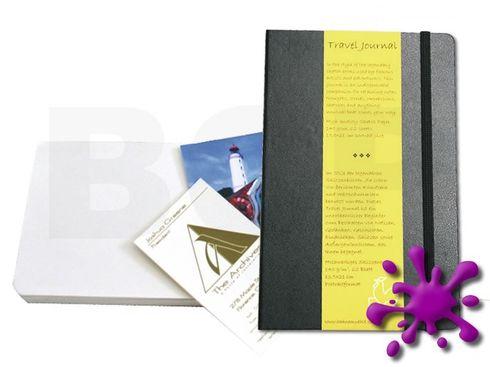 Travel Journal Buch QF 140g 13x21cm 62 Blatt – Bild 1