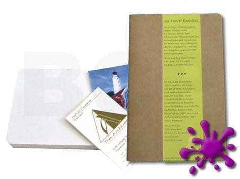 Hahnemühle Travel Booklet HF 140g/m², 9x14cm, 2 Bücher à 20 Blatt – Bild 1