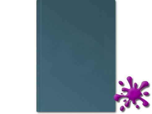 Hahnemühle Skizzenbuch D&S HF 140g, 80 Blatt, A5, blau – Bild 1
