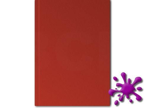 Hahnemühle Skizzenbuch D&S HF 140g, 80 Blatt, A5, rot – Bild 1