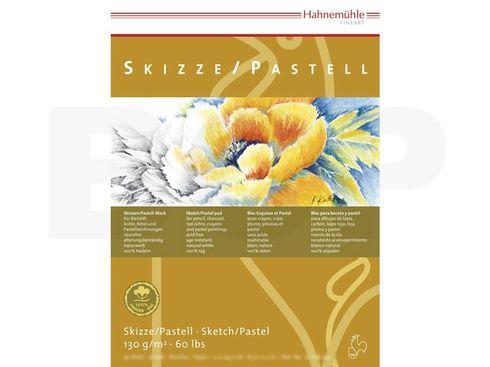 Skizze/Pastell Block 100% Hadern 130g A2 30 Blatt – Bild 2