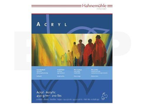 Hahnemühle Acrylmalkarton - Block 450g 50x65cm 10 Blatt – Bild 2