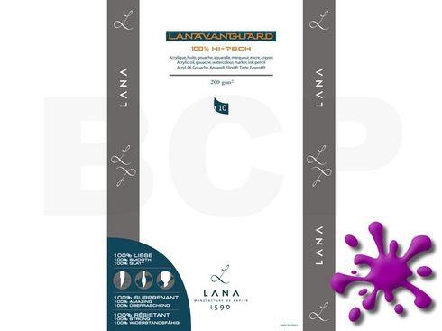 Hahnemühle Lanavanguard Block 200g ,22x32cm, 10 Blatt – Bild 1