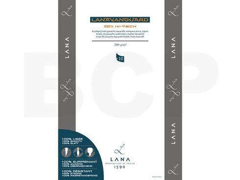 Hahnemühle Lanavanguard Block 200g 34x48cm 10 Blatt – Bild 2