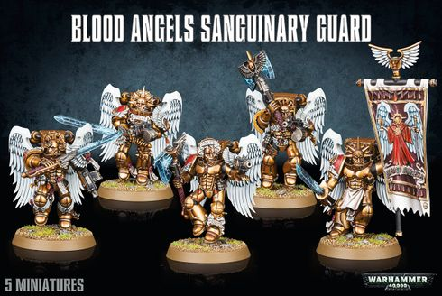 Warhammer 40,000: Blood Angels Sanguinary Guard