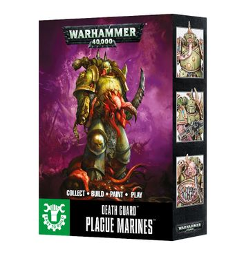 Warhammer 40,000: Death Guard Plague Marines