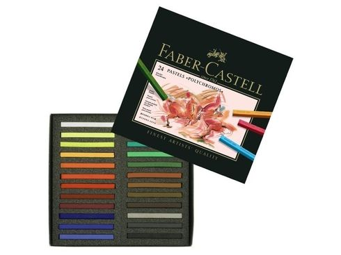 Faber-Castell Polychromos Pastellkreide 24er Kartonetui
