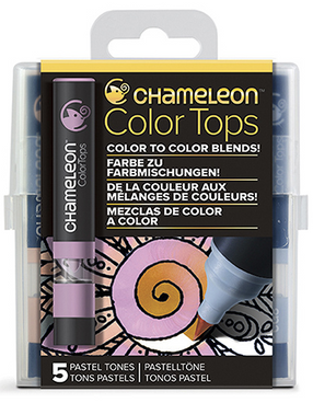 Chameleon Color Tops 5er Set - Pastelltöne  – Bild 1