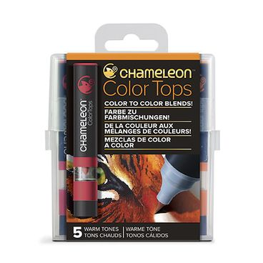 Chameleon Color Tops 5er Set - Warme Töne – Bild 1