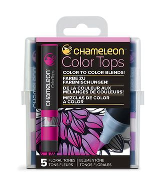 Chameleon Color Tops 5er Set - Blumentöne – Bild 1
