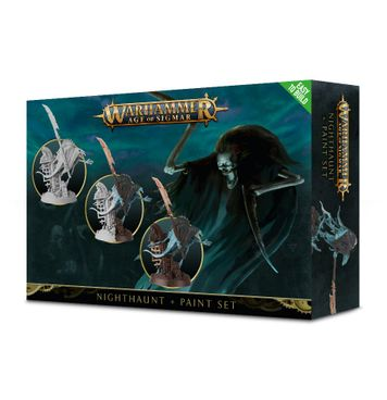 Warhammer Age of Sigmar: Nighthaunt + Paint Set