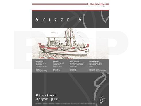 Hahnemühle Skizzenpapier S 120g, 50 Blatt, A3 – Bild 2