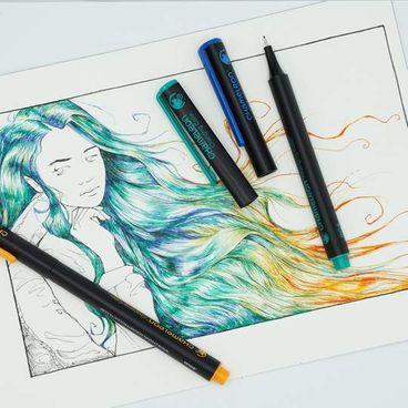 Chameleon Pens 24er Fineliner Set - kräftige Farben – Bild 6