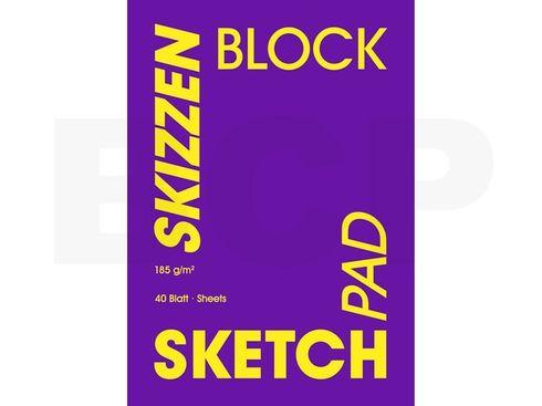 Hahnemühle Skizzenblock Velvet A2 185g/m², 40 Blatt – Bild 2